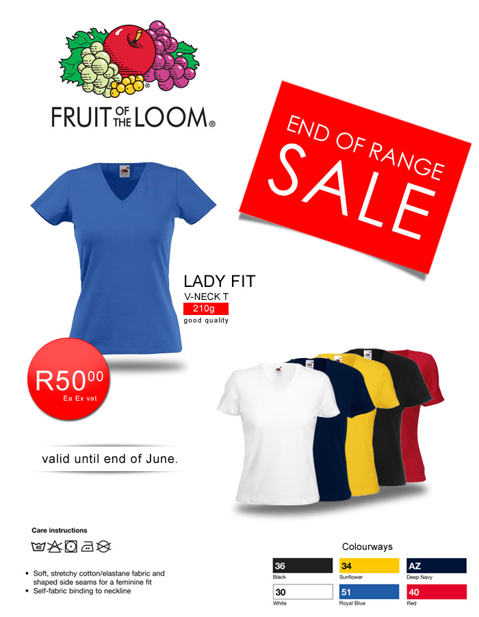 Fruit of the Loom in South Africa